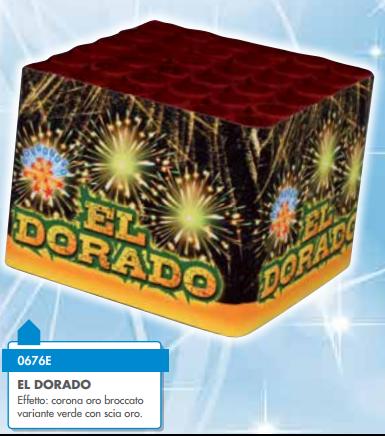 FUOCO D'ARTIFICIO BORGONOVO  EL DORADO