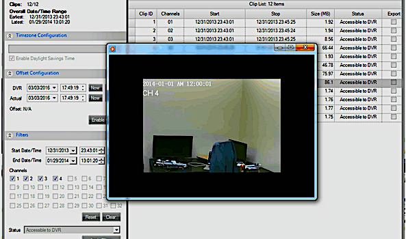 Acquisizione forense DVR e sistemi di VideoSorveglianza - Richiesta Preventivo