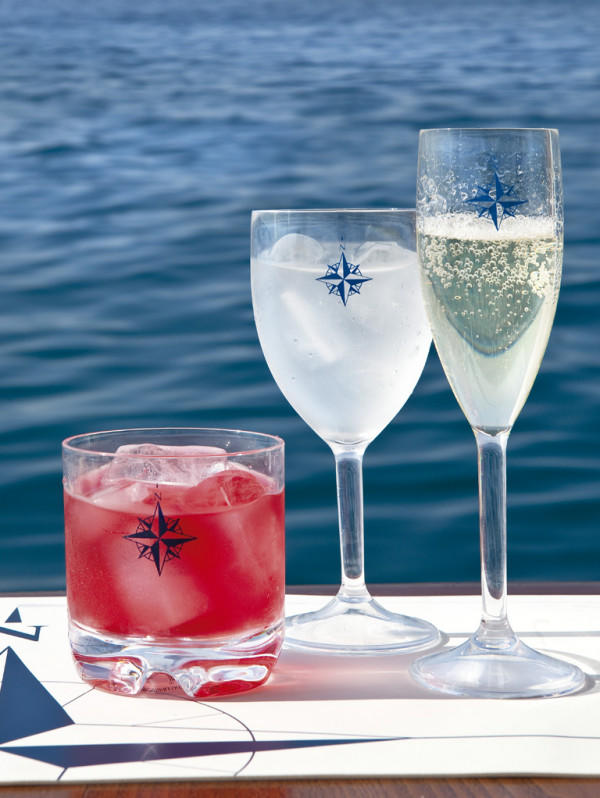 Bicchiere Flute Infrangibile serie NORTHWIND di Marine Business set 6 pezzi - Offerta di Mondo Nautica 24