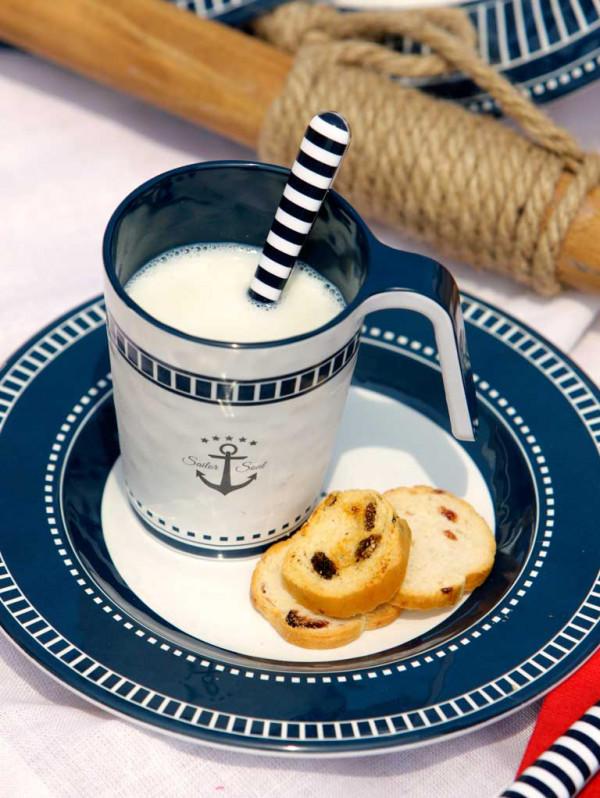 Tazza MUG Infrangibile in Melanina set 6 pezzi serie SAILOR SOUL di Marine Business - Offerta di Mondo Nautica 24