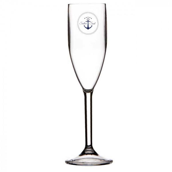 Bicchiere Flute Infrangibile serie SAILOR SOUL di Marine Business set 6 pezzi - Offerta di Mondo Nautica 24