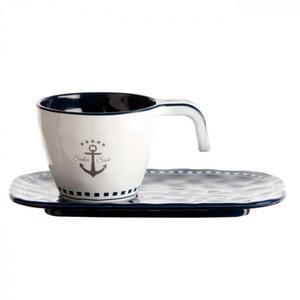Servizio Caffè Infrangibile in Melanina set 6 pezzi serie SAILOR SOUL di Marine Business - Offerta di Mondo Nautica 24