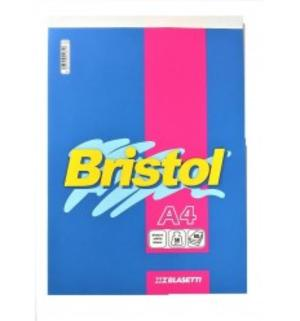BLOCCO NOTES BRISTOL FORMATO  A4 60 FOGLI QUADRI 5 MM