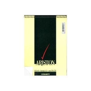 BLOCCO NOTES ARISTON CON SPIRALE FORMATO A5 60 FOGLI QUADRI 5 MM
