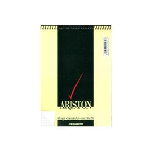 BLOCCO NOTES ARISTON CON SPIRALE FORMATO A5 60 FOGLI QUADRI 5 MM