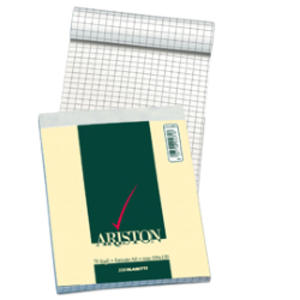 BLOCCO NOTES ARISTON FORMATO A5 70 FOGLI QUADRI 5 MM