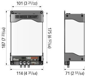 Carica Batterie SBC 140 NRG+ FR New di Quick - Offerta di Mondo Nautica 24