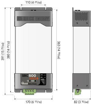 Carica Batterie SBC 600 NRG+ FR New di Quick - Offerta di Mondo Nautica 24