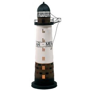 Lampada a Forma di Faro di Ar-Men con Luce ( alto 51 cm. ) di Artesania Esteban - Mondo Nautica 24