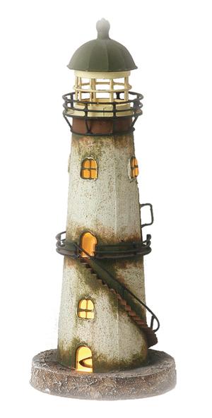 Faro Marinaio con Lampada ( alto 34.5 cm. ) di Artesania Esteban - Mondo Nautica 24