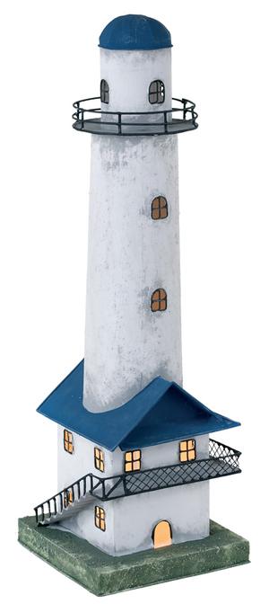 Faro Nautico con Lampada ( alto 55.5 cm. ) di Artesania Esteban - Mondo Nautica 24