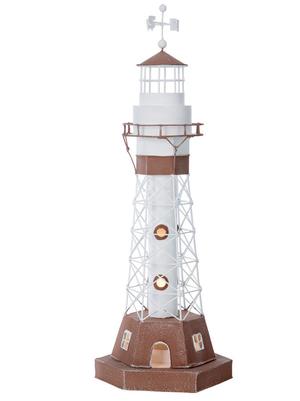 Faro Nautico con Lampada ( alto 51 cm. ) di Artesania Esteban - Mondo Nautica 24