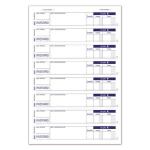 BLOCCO INVENTARIO MERCI TRIPLICE COPIA 33X3 DA 8 TAGLIANDI - BUFFETTI 6524C0033