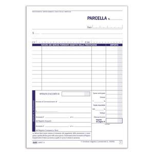BLOCCO PARCELLE PROFESSSIONISTI 100x2 - BUFFETTI 6347C1000