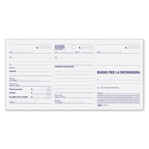 BLOCCO SCONTRINI RIPARAZIONE - BUFFETTI 634502000