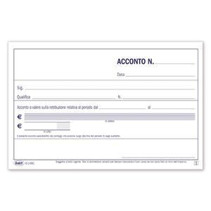 BLOCCO ACCONTI RETRIBUZIONE - BUFFETTI 6148C0000