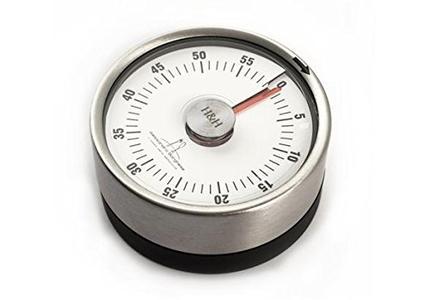 H&H Timer cucina meccanico con magnete borghese cm6 Strumenti da cucina