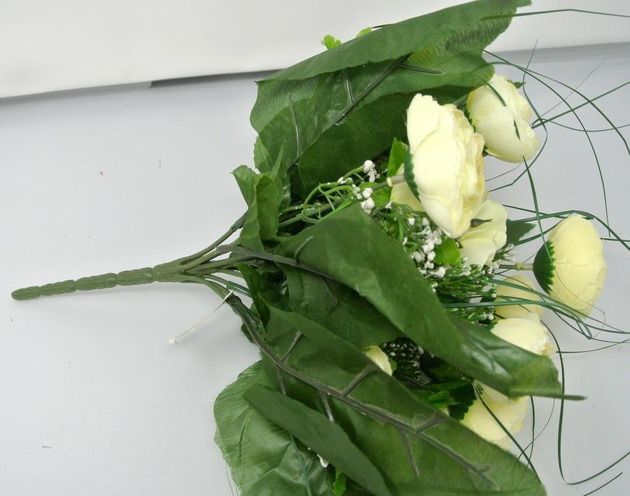 RANUNCOLO IN MAZZO BUSH - BIANCO WHITE