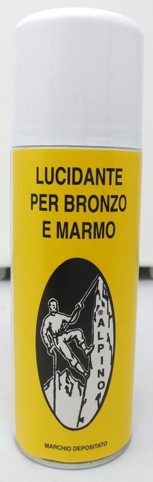 LUCIDANTE SPRAY ALPINO PER BRONZO E MARMO 200 ML