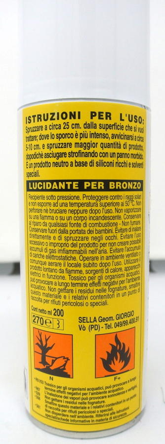 LUCIDANTE SPRAY ALPINO PER BRONZO E MARMO 400 ML