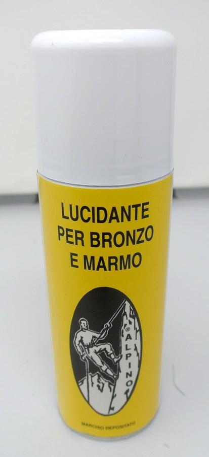 LUCIDANTE SPRAY ALPINO PER BRONZO E MARMO 400 ML