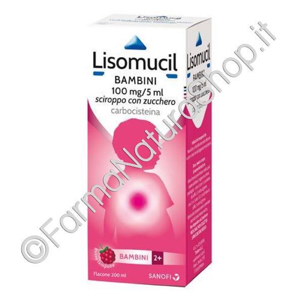 LISOMUCIL Bambini 100 mg/5 ml sciroppo