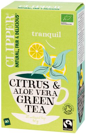 Clipper Tè Verde Aloe Vera
