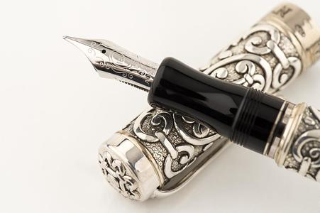 "PENNA STILOGRAFICA AURORA ""BENVENUTO CELLINI"" FOUNTAIN PEN"