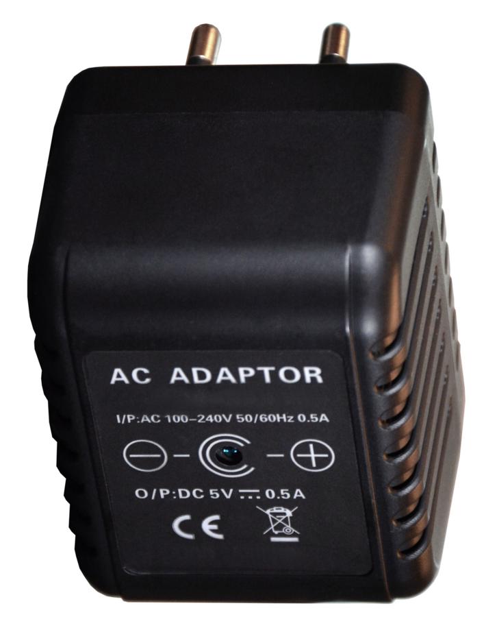 Microtelecamera con videoregistratore nascosto in alimentatore da presa. Versione WIFI