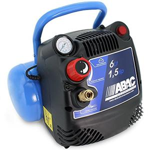 Mini compressore portatile ABAC MBL6 220V 1,5 HP 6 litri aria compressa 8 bar