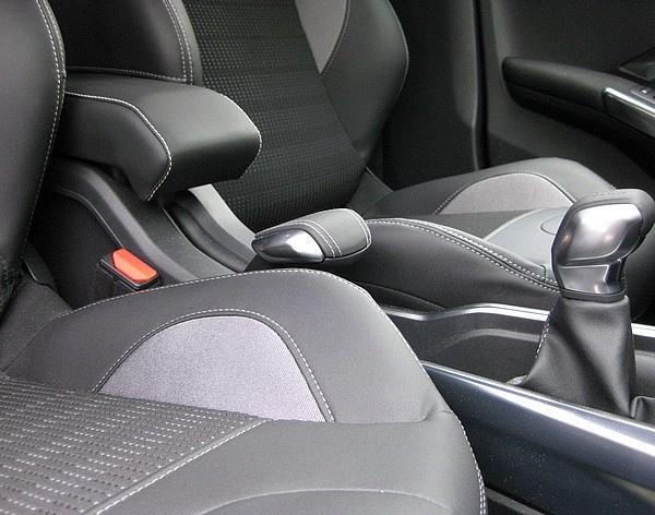 Mittelarmlehne DESIGN für Peugeot 2008 mit farbige Nähte