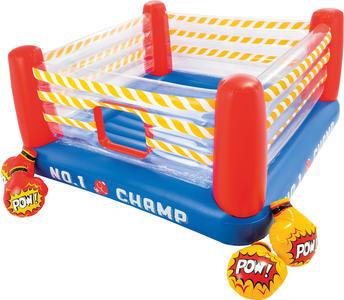 Gioco gonfiabile per bambini Jump o Lene Fun Ring Gonfiabile Intex 48250 per Bambini con Guantoni ad Aria