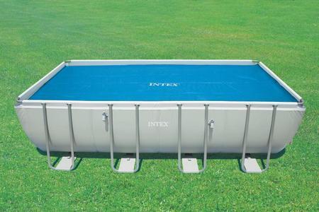 Copertura telo termico Intex 29030 per piscina 975 x 488cm UNIVERSALE