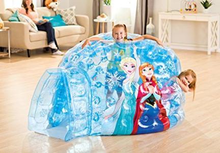 Gioco gonfiabile CASETTA per bambini INTEX 48670 - Igloo FROZEN  185 x 157 x 107 cm
