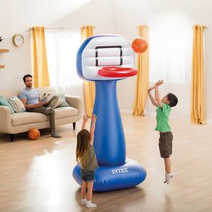 Canestro Basket intex 57502 Gonfiabile con Palla per Casa e Giardino SHOOTIN HOOPS