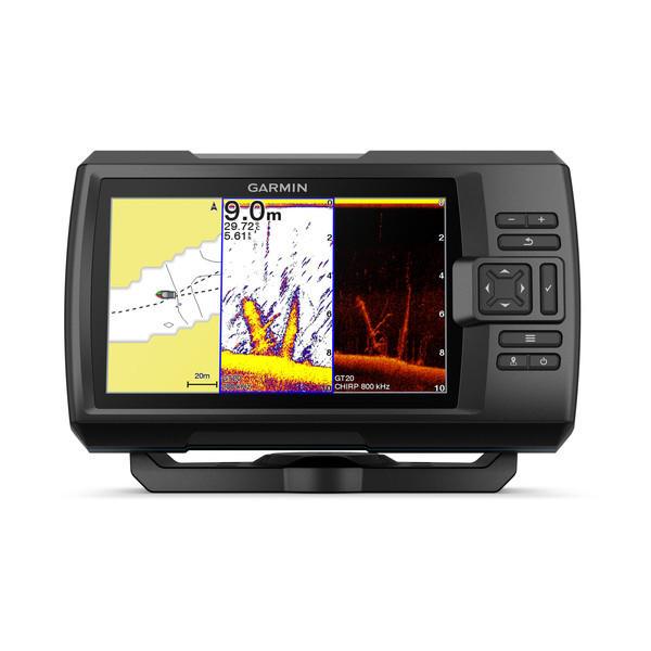 Ecoscandaglio Garmin STRIKER Plus 7sv con GPS integrato con trasduttore GT52HW-TM - Offerta di Mondo Nautica  24