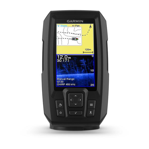 Ecoscandaglio Garmin STRIKER Plus 4 con GPS integrato e Trasduttore DUAL BEAM - Offerta di Mondo Nautica  24