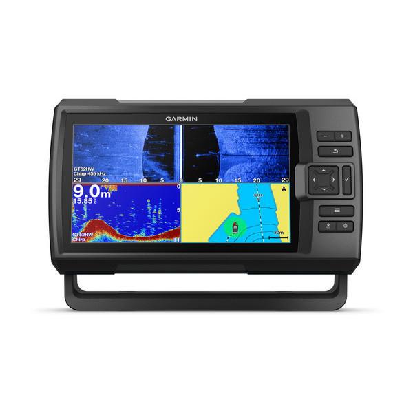 Ecoscandaglio Garmin STRIKER Plus 9sv con GPS integrato e con trasduttore GT52HW -TM - Offerta di Mondo Nautica  24