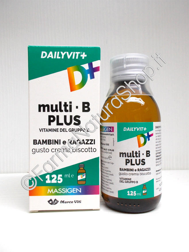 MASSIGEN Dailyvit Multi-B Plus Sciroppo