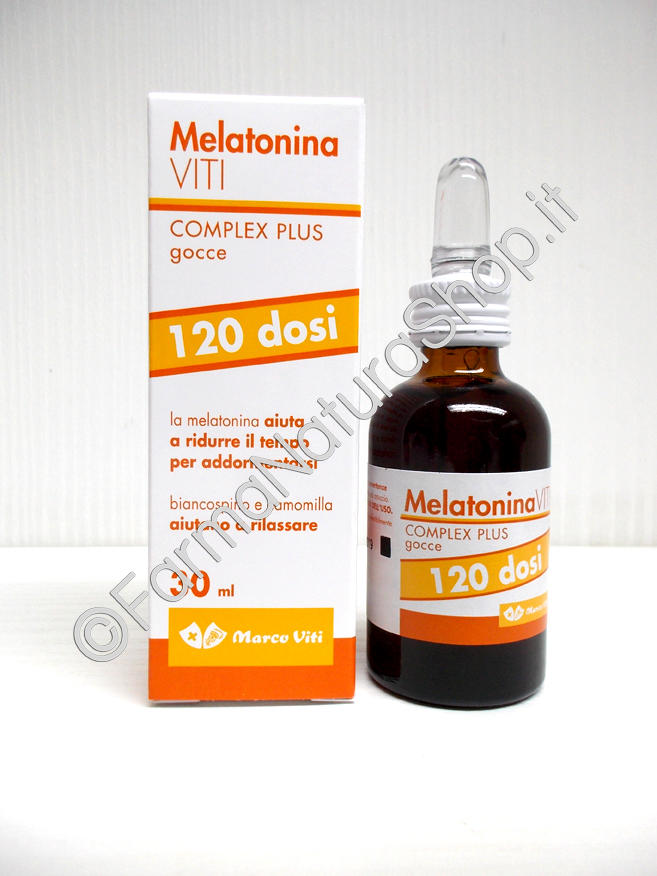 MELATONINA VITI  Complex Plus Gocce