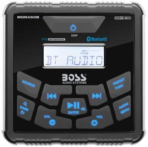 Radio Boss MGR450B Stereo quadrato da Cruscotto di BOSS MARINE - Offerta di Mondo Nautica  24