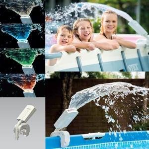 Spruzzino multicolor per piscine Intex 28089 frame e ultra frame rotonde e rettangolari