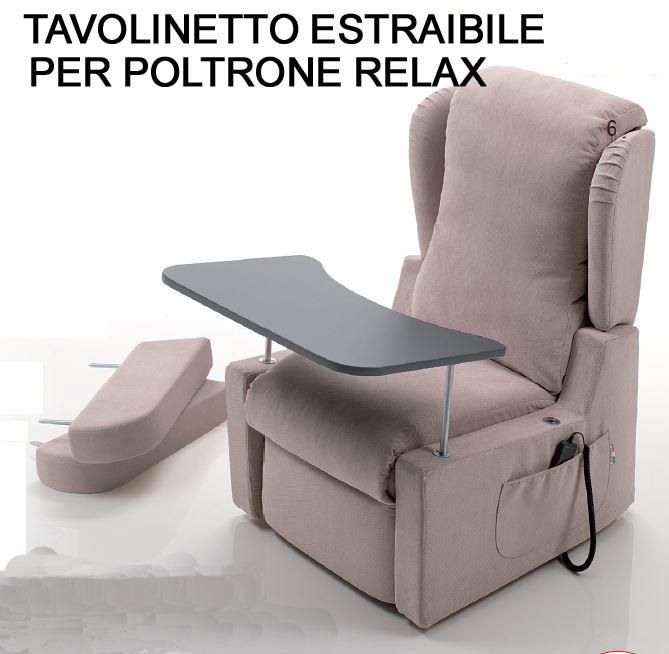 Tavolinetto per Poltrona relax Medical Logica Bergè Compact PREZZO IVA AGEVOLATA 4%