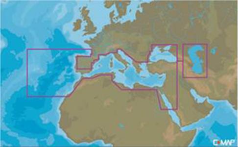 Cartografia C-MAP Max-N+ Mar Mediterraneo- Offerta di Mondo Nautica 24