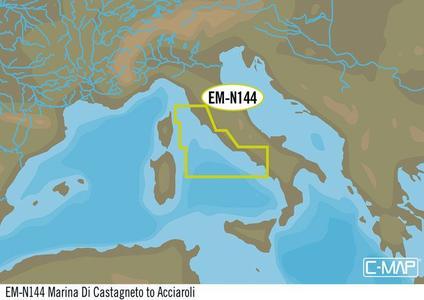 Cartografia C-MAP Local Max-N+ Castagneto - Acciaroli - Offerta di Mondo Nautica 24