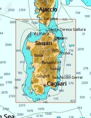 Cartografia C-MAP Local Max-N+ Sardegna - Offerta di Mondo Nautica 24