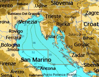 Cartografia C-MAP Local Max-N+ Ravenna - Pakostane - Offerta di Mondo Nautica 24