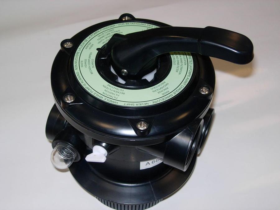 Valvola selettrice a 6 VIE per pompe a sabbia NEW PLAST TF/S 800-1000-1200-1500