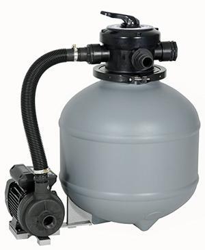 Pompa a sabbia per piscina NEW PLAST da 4.000 m3 / 25 lt Sistema per filtrazione SHOTT per piscina professionale made in italy PPF25/4000SP