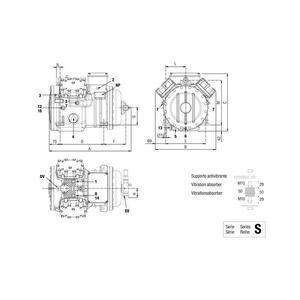 Compressore Semiermetico S 7 39 Y Frascold